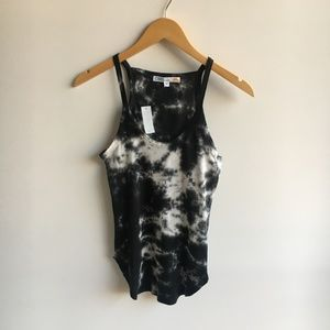 NWT C&C California Tie Dye Fitted Tank